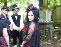 Gothic culture at Kensal Green Cemetery Open Day