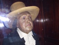 Jeremy Bentham's embalmed body