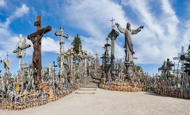 Kryziu Kalnas - The hill of crosses