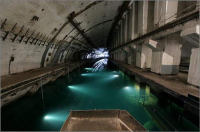 Object 825 submarine bunker