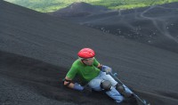 Volcano Boarding on Cerro Negro