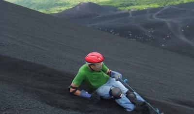 Volcano Boarding on Cerro Negro Volcano