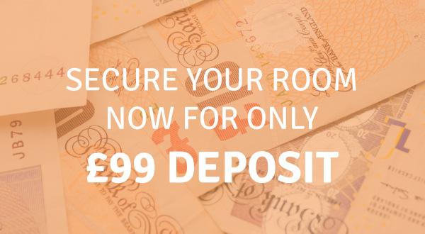 Just £99 deposit to secure a property