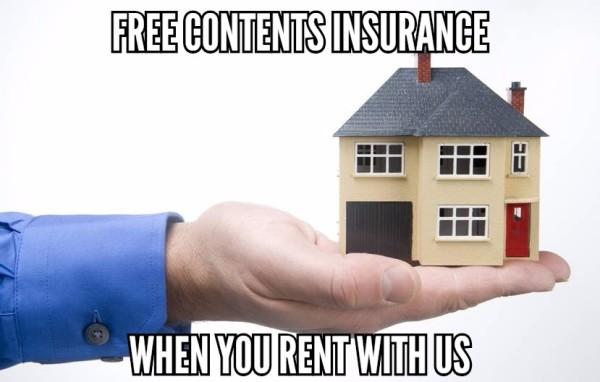 Free contents insurance for tenants
