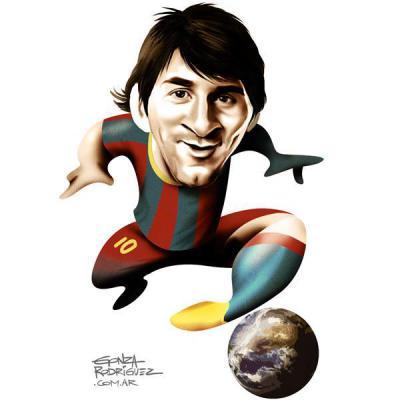 "Lionel Messi"" La Pulga"""