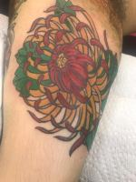 Tattoo by Miguel from Black Cloud Tattoo