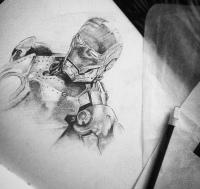 Drawing by Miguel at Black Cloud Tattoo Charlotte North Carolina