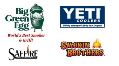 GRILLS, YETI PRODUCTS & SEASONINGS