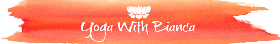 Yoga With Bianca - Logo Banner