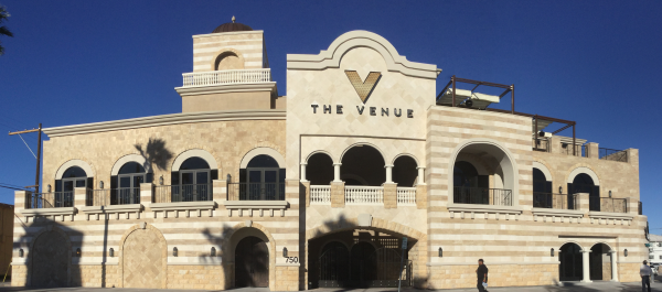 Exterior Stone - Venue of Vegas
