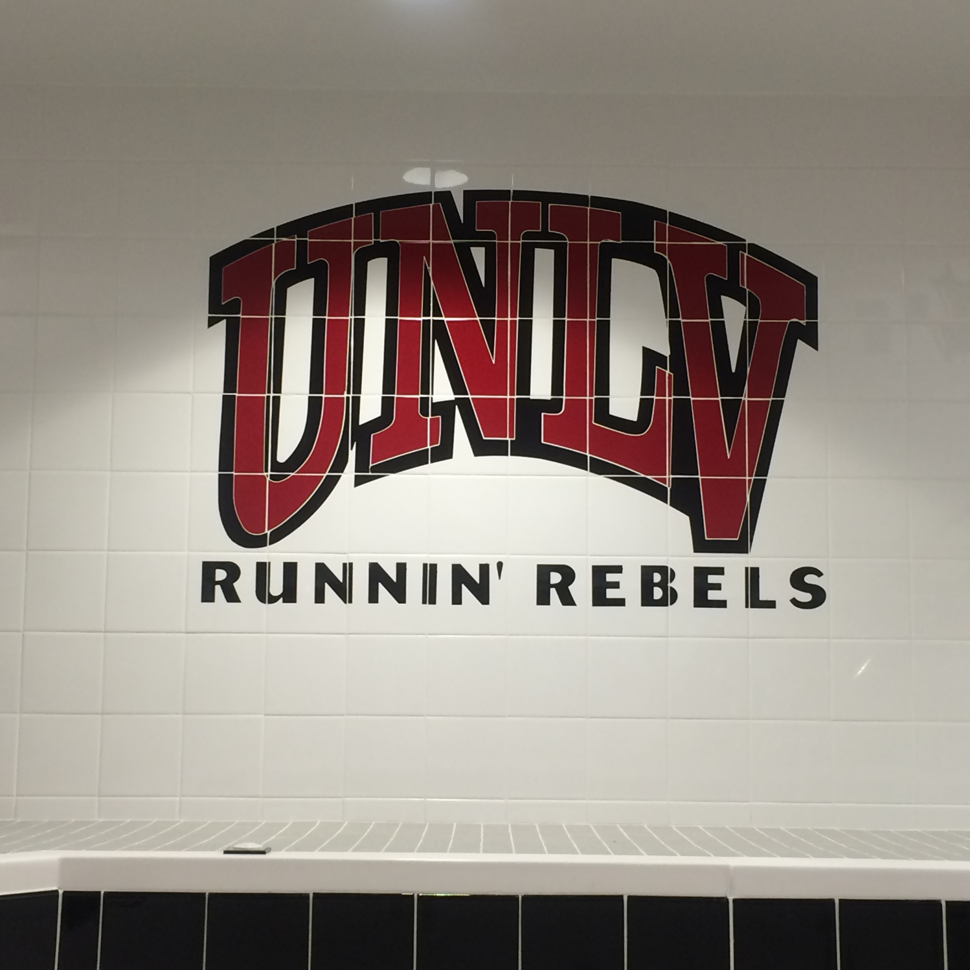 Custom Ceramic Waterjet - UNLV