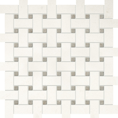 "BINET & BERYL HONED 1"" X 2"" BASKETWEAVE"