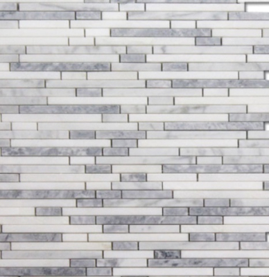 BT BRICK GLACIER BLEND MOSAIC HIGH HONED