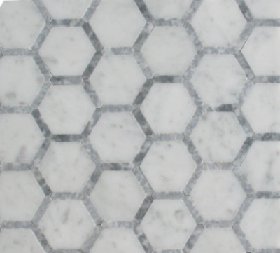 HONEYCOMB GLACIER BLEND MOSAIC POLISHED