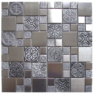 Harmonix Stainless with Embellished Pewter Pattern