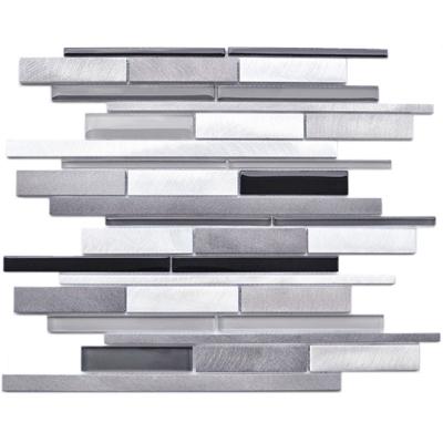 Melody Aluminum and Glass Random Linear