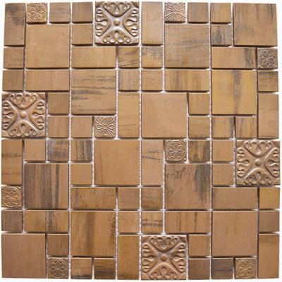 Muzo Copper Pattern Embellished
