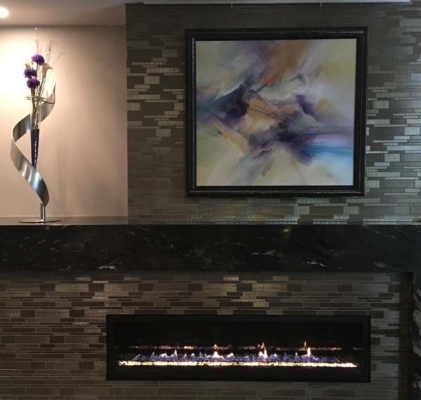 Custom Porcelain Mosaic - Las Vegas Residence