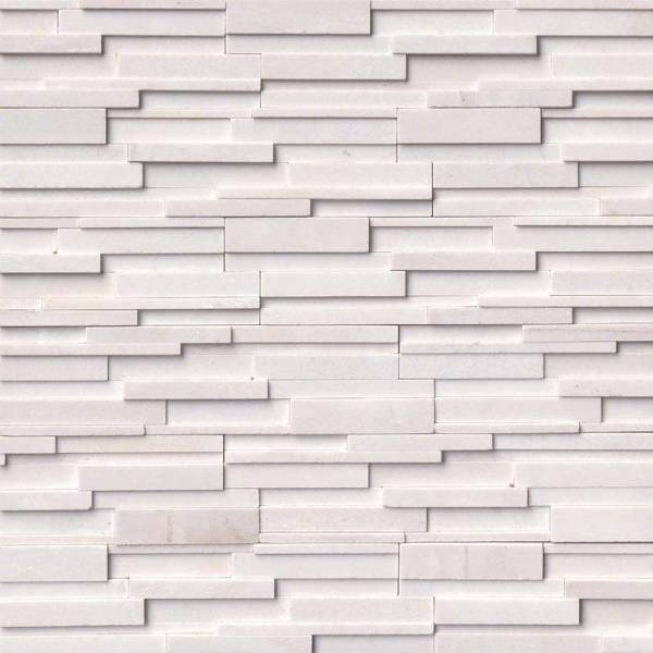 ARCTIC WHITE MARBLE 3D HONED