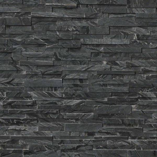 GLACIAL BLACK MARBLE 3D HONED