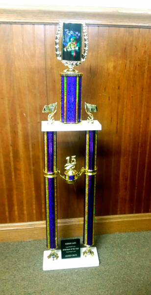 Double column trophy