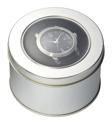 Round Window Tin