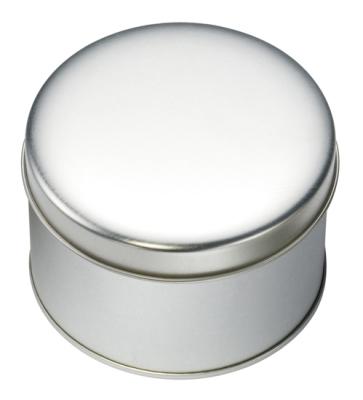 Round Metal Tin