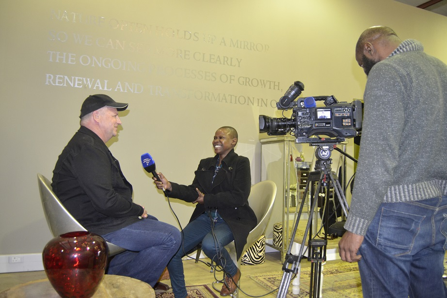 Morning Live SABC 2 interview