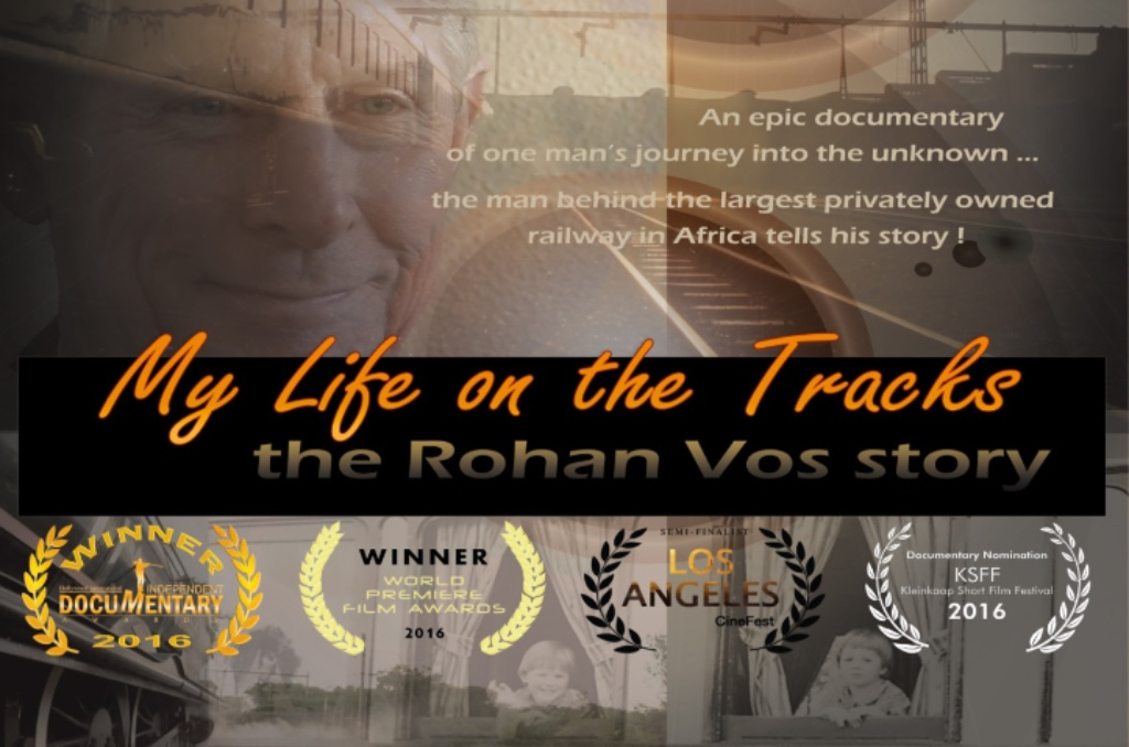 'My Life on the Tracks - the Rohan Vos Story'