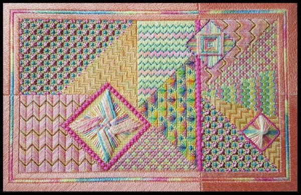 Susan Ayres needlepoint