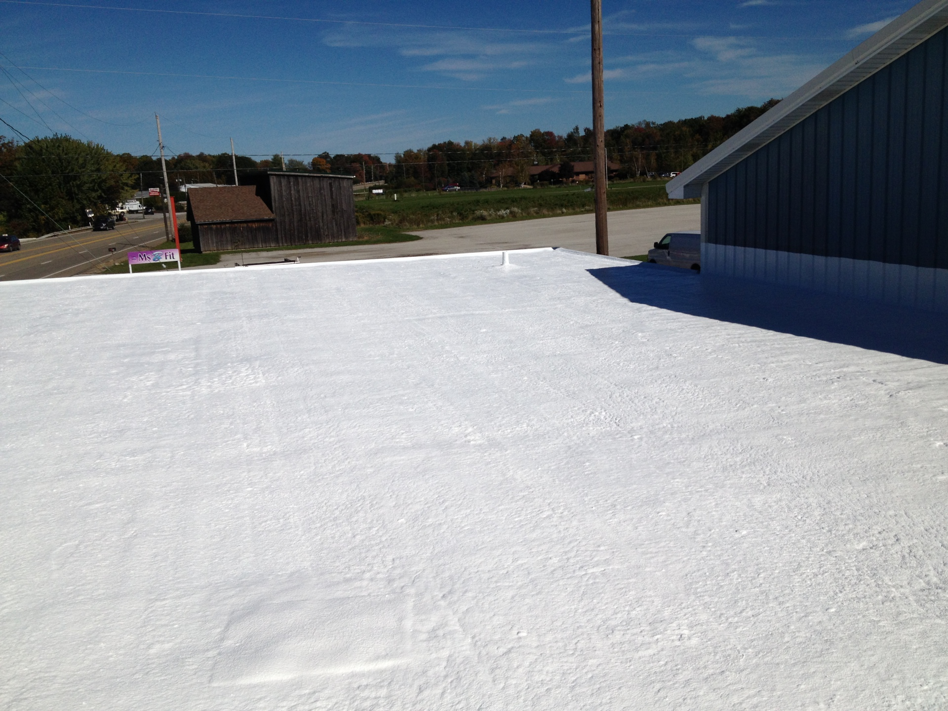 Spray Foam Roof System