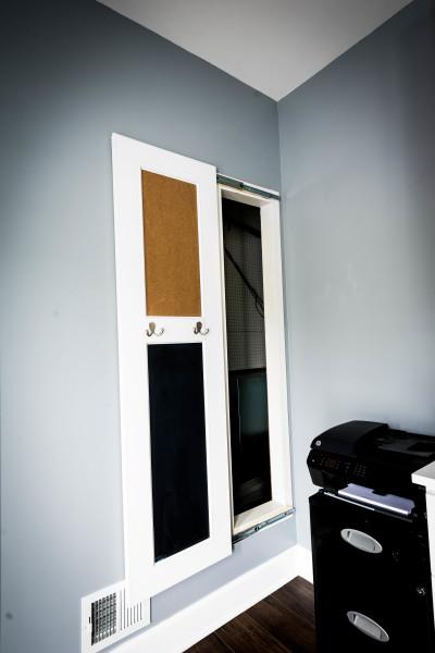 Custom Hidden Door