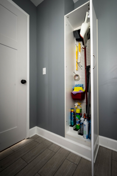 Add a Utility Cabinet to an Empty Corner
