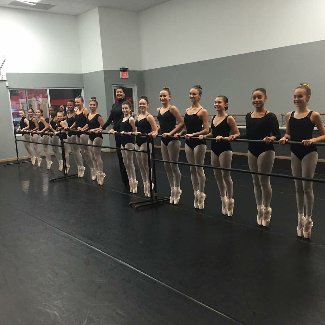 Mrs. Chantall's Pointe Class
