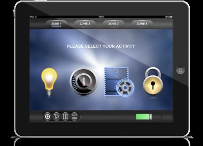 Adaptive Power - Automation iPad