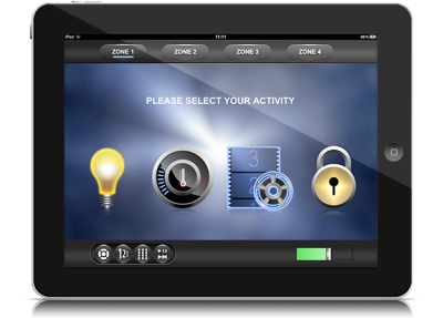 Adaptive Power - Automation iPad