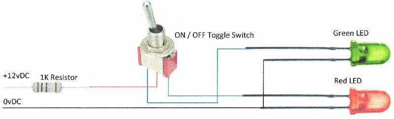 Toggle Switch Control of Signal