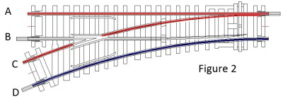 "<img src=""curved power connections.jpg"" alt=""shows the positive & negative power to the track"">"