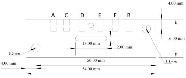 Seep Motor Drilling Template