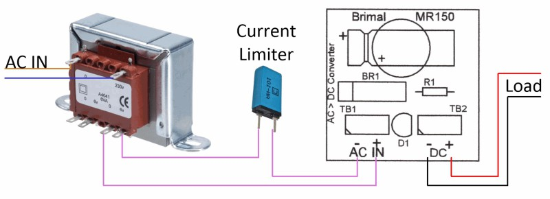 MR150 Component Connection
