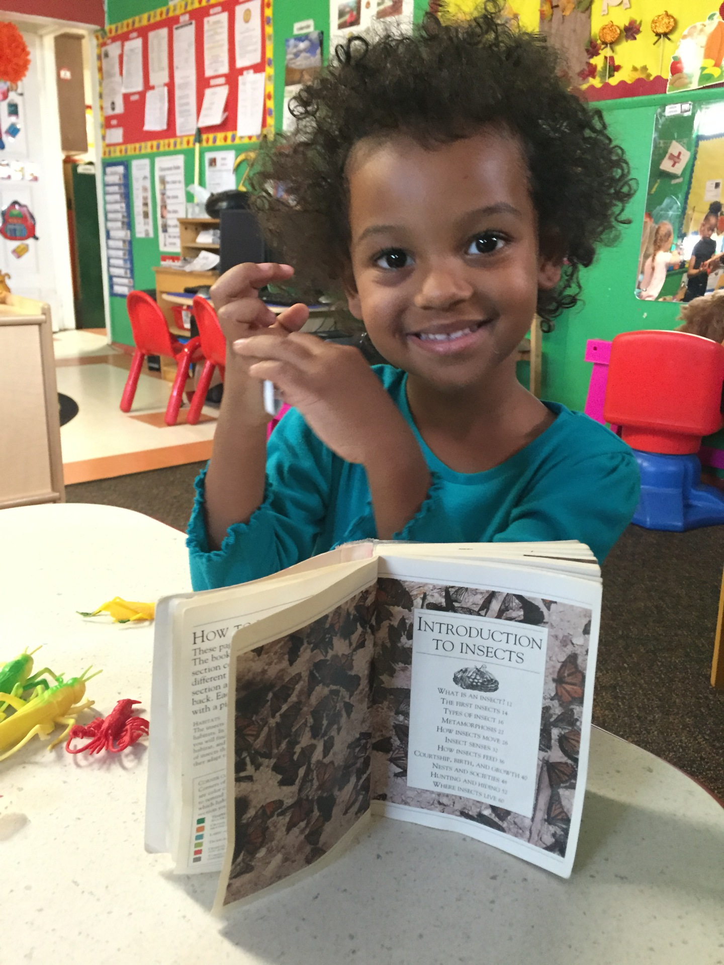 Children learn and explore with hands-on activities
