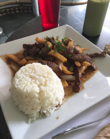 Sautéed Steak / Lomo Salgado   $8