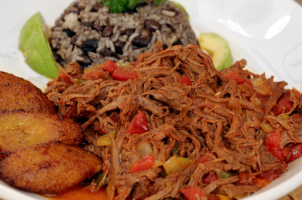 Cuban Style Shredded Beef / Ropa Vieja $7