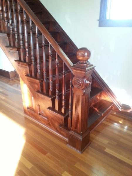 Grand Staircase Refinish (pine)