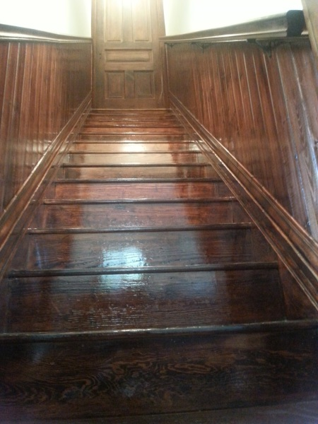 +100 yr. old Staircase Refinish