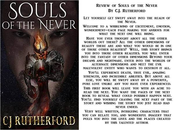 Review of Souls of Never by CJ Rutherford