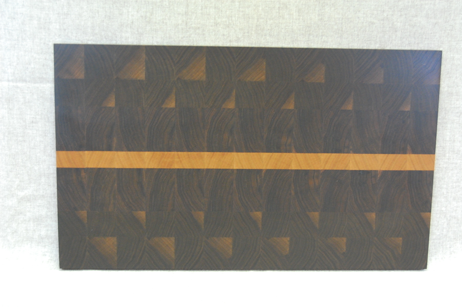 Walnut w/cherry stripe