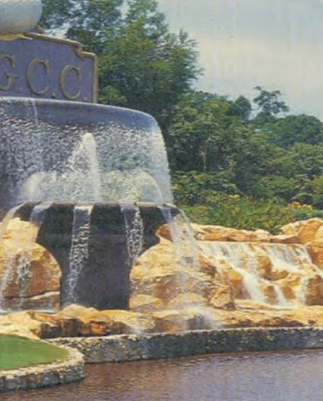 Royal Brunei Golf and Country Club Water Features, Brunei