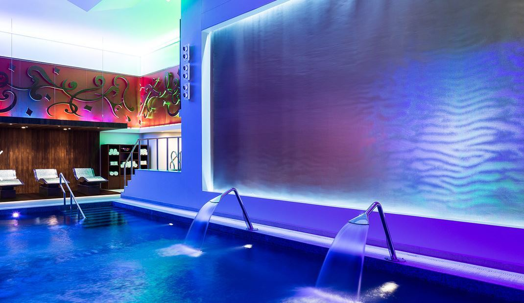 Hotel Spa Water Features
