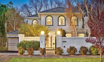 Melbourne home in Kew
